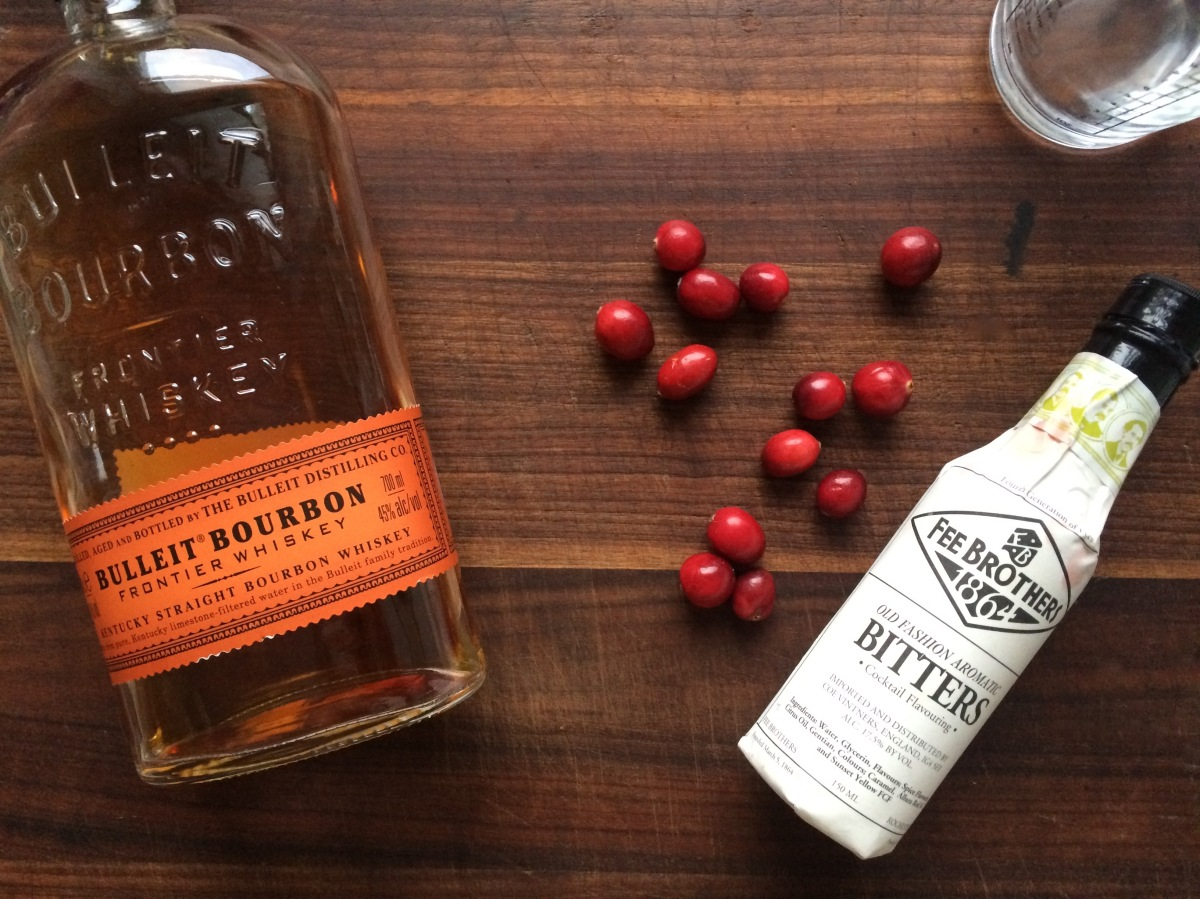 Friday Cocktail: Cranberry Old Fashioned – Attempting Effortless