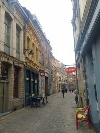 Sidestreet in Vieux Lille